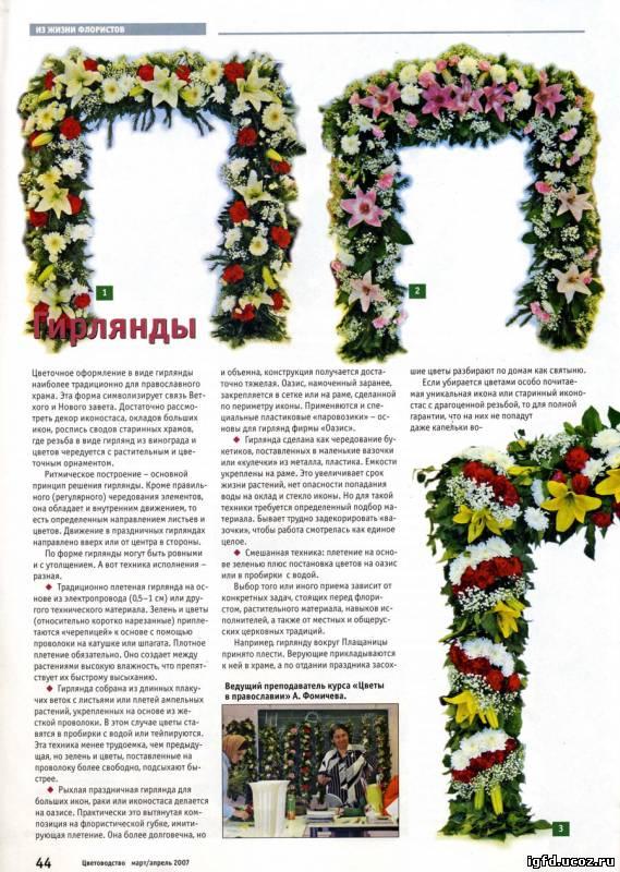 Цветы бумажные для иконы своими руками